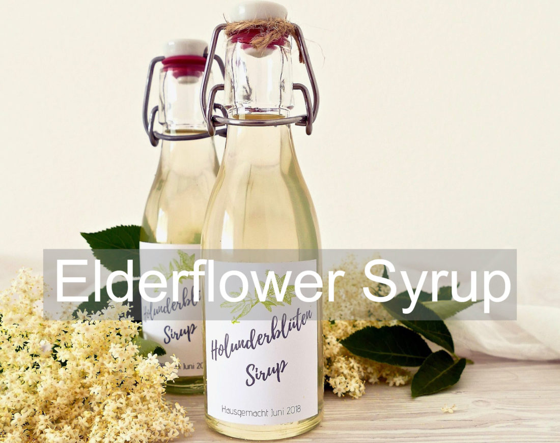 Elderflower Syrup Recipe